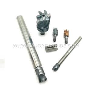 solid carbide modular tool shank with internal thread